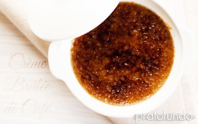 Crème Brûlée de Café