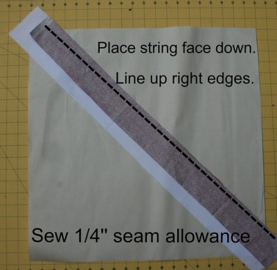 Sewing String Block