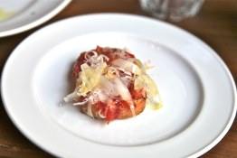 The Sardine Can | Manchego and tomato toasts