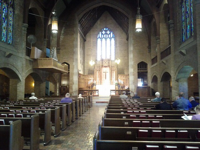 Senior Tech This Week's Church: Mount Olive Lutheran (elca) In Minneap