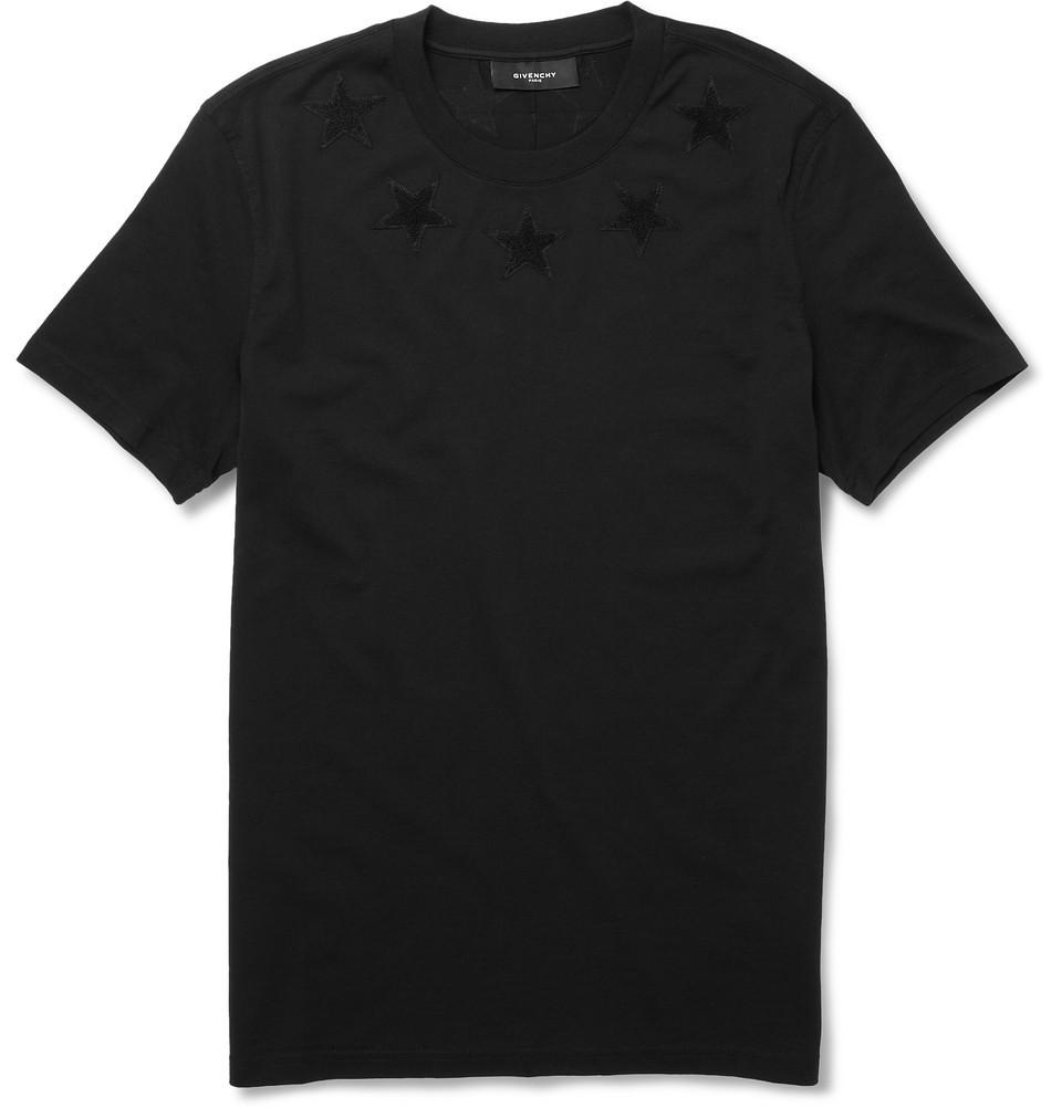 Givenchy Stars T-Shirt Black