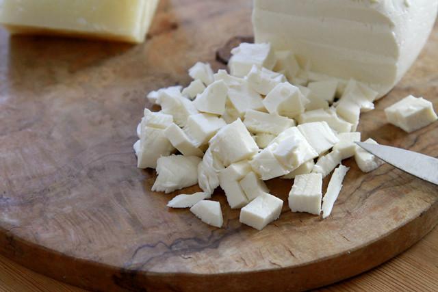 mozzarella (and pecorino)