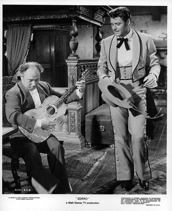 Gene Sheldon and Guy Williams