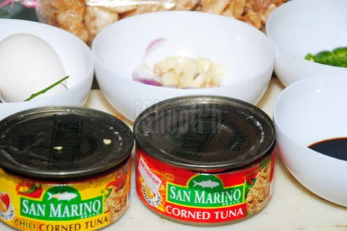 San Marino Corned Tuna Combo Ingenious Recipe rich in Omega-3 DHA.