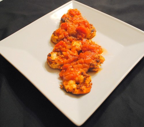 Shrimp in Mexican Tomato Sauce