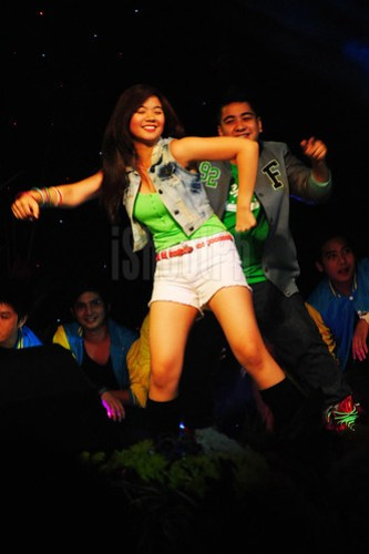 Teen stars Miles Ocampo and Igi Boy Flores give their best on their dance numbers.