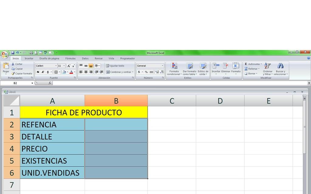 TUTORIAL DE MACRO FUNCIONAL nidiamelgarejoc - formato inventario en excel