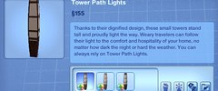 Tower Path Lights