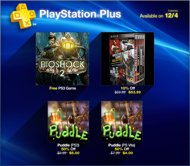 PlayStation Store Update 12-4-2012