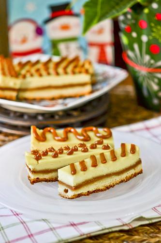 Caramel Cheescake Bites 6