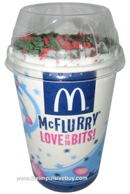 Holiday Mint McFlurry