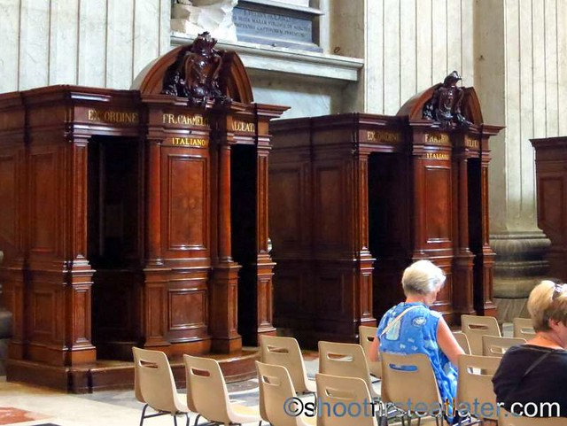 St. Peter's Basilica- Confessional