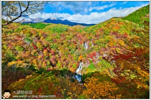 [日本關東楓紅之旅4-1]日光:霧降瀑布(霧降の滝)