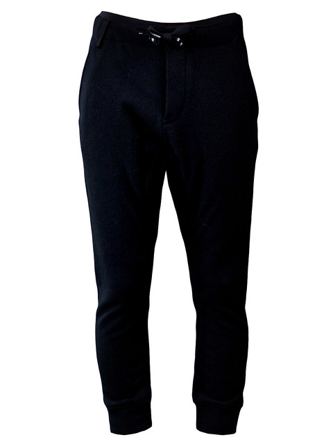 SEE ALL BACKLASH        BACKLASH  $865.00       STYLE NO. 1290-01 BLK   From Backlash, this wool cashmere cropped pant