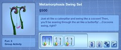 Metamorphosis Swing Set