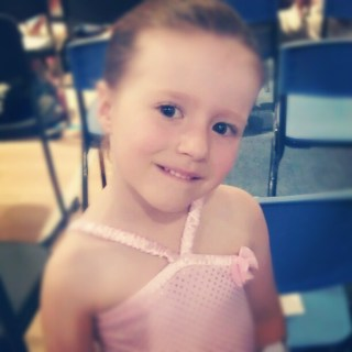 My fairy dancing girl at her end of year concert