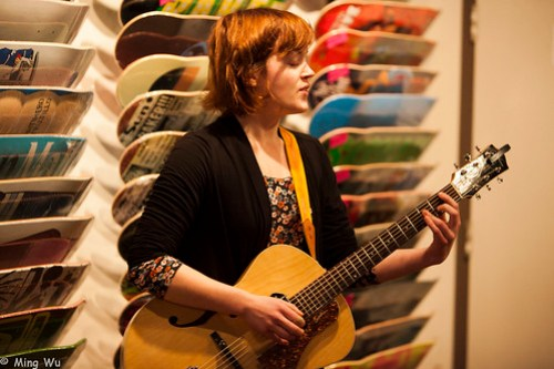 Sarah Jane Johnston @ Antique Skate Shop