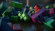 Tetris Collision, Texturing, Lighting, and DOF Test5
