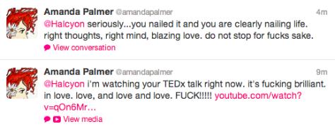 @Amanda Fucking Palmer