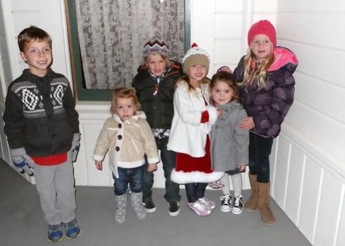 Brayden, Molly, Georgie, Meghan, Annie, Reilly