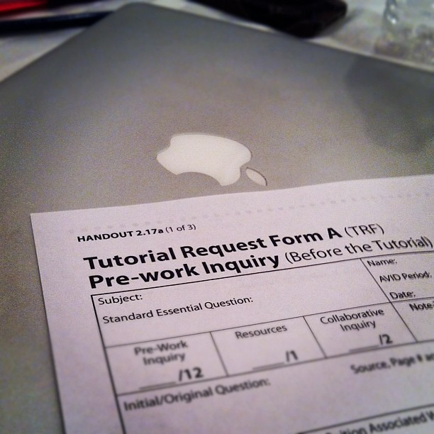 Adapting the #avid tutorial request form to an online web \u2026 Flickr