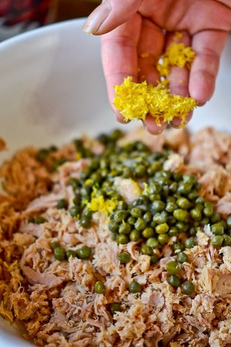 Israeli Couscous Tuna Salad-4