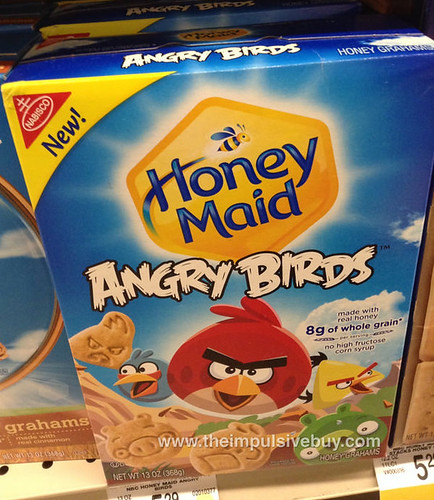 Honey Maid Angry Birds