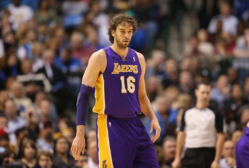 Paul Gasol: Basquetbolista español de los Angeles Lakers