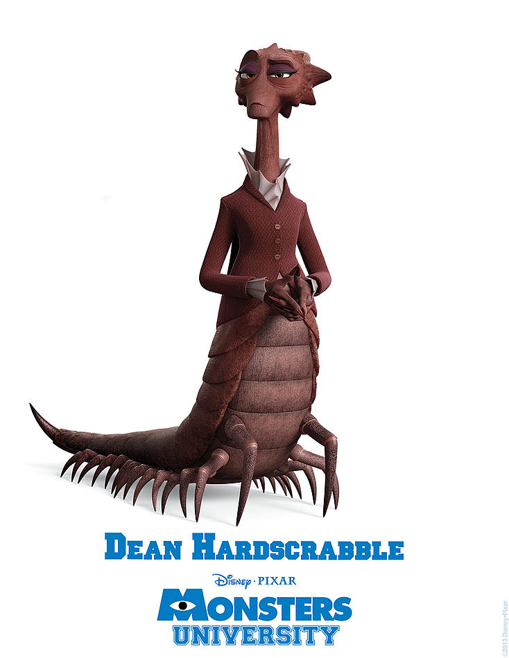 Monster University - Dean Hardscrabble