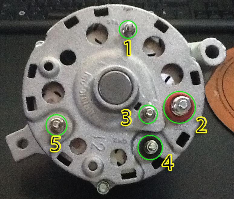 87 Ford Alternator Wiring Wiring Diagram
