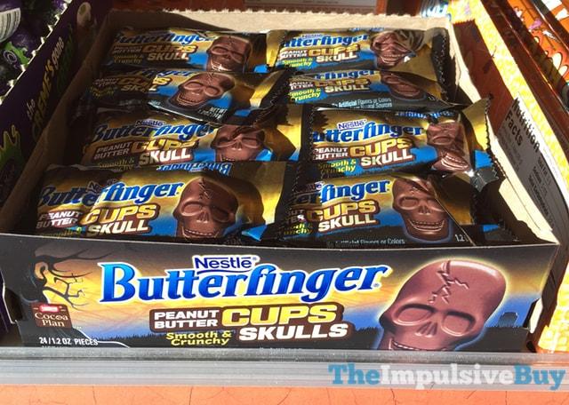 Nestle Butterfinger Peanut Butter Cups Skulls