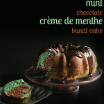 Mint Chocolate Crme de Menthe Bundt Cake