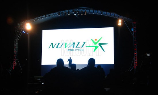 RX DJ Tom Alvarez on the center stage hosting NUVALI Night Sky Cinema event.