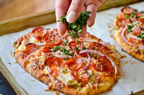 Deluxe Flatbread Pizza-9