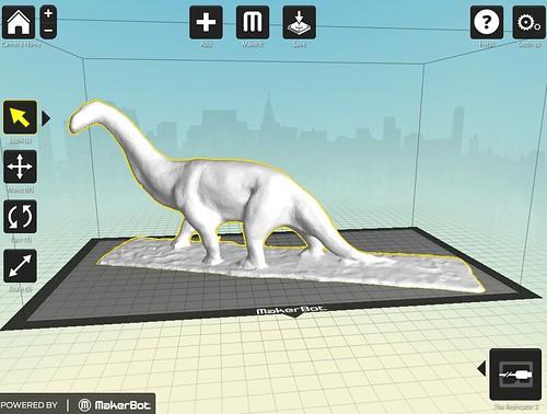 1919 Camarasaurus Digital Model
