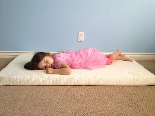 testing brother's mattress