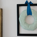 Wrapped Fabric Wreath