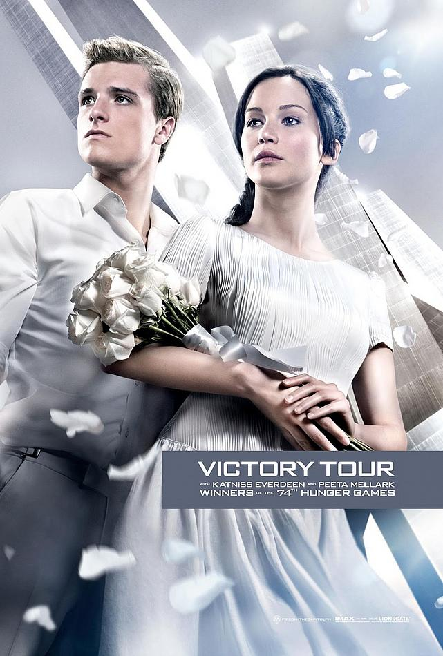 Victory Tour Poster The Hunger Games: Catching Fire