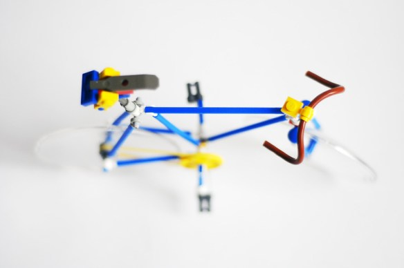 Stylish Road Bicycle Built Out of LEGO