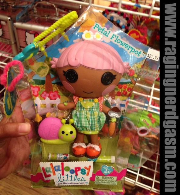 Lalaloopsy littles Dolls Petal Flowerpot