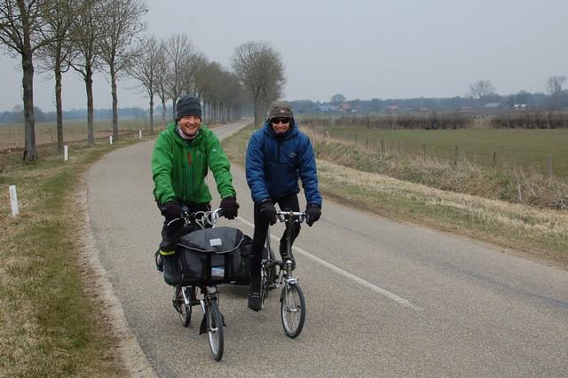 Shanecyclescom Carrying Luggage On A Brompton Folding Bike