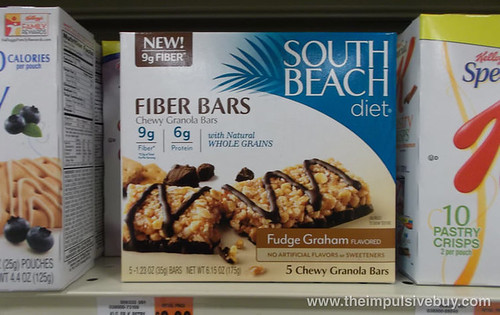 South Beach Diet Fudge Graham Fiber Bars