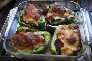 Weekly Photo 9/52 for 2013: Philly Cheese Steak Peppers by Kristen Koster on Flickr