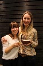 Jennifer Mellander & Renee Brundell - Tasting buddies at  O5 Rare Tea Bar | Tea & Mezcal Tasting