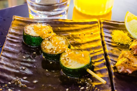 Tokonoma Grilled zucchini