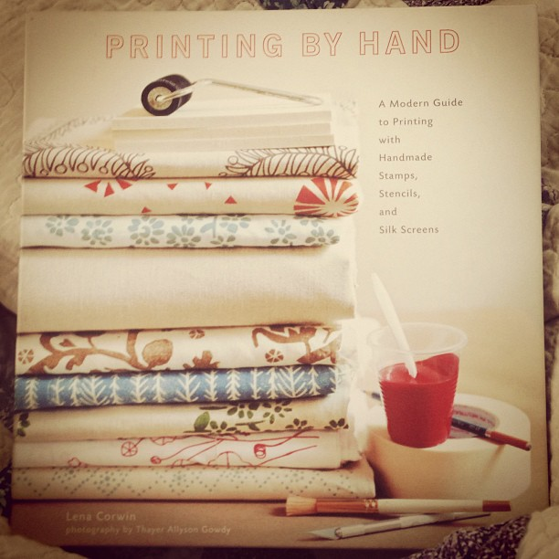 Printing by Hand, by Lena Corwin