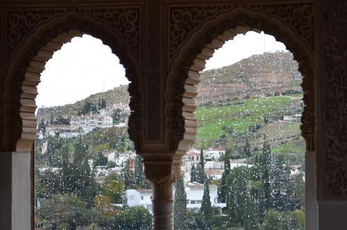 Rain in Granada