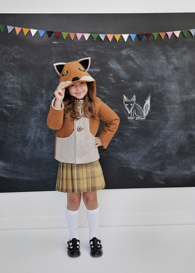 Kids Fox Coat Jacket