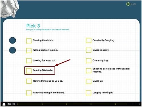 Unstuck's Pick 3