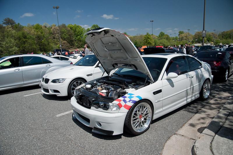 white E46 M3